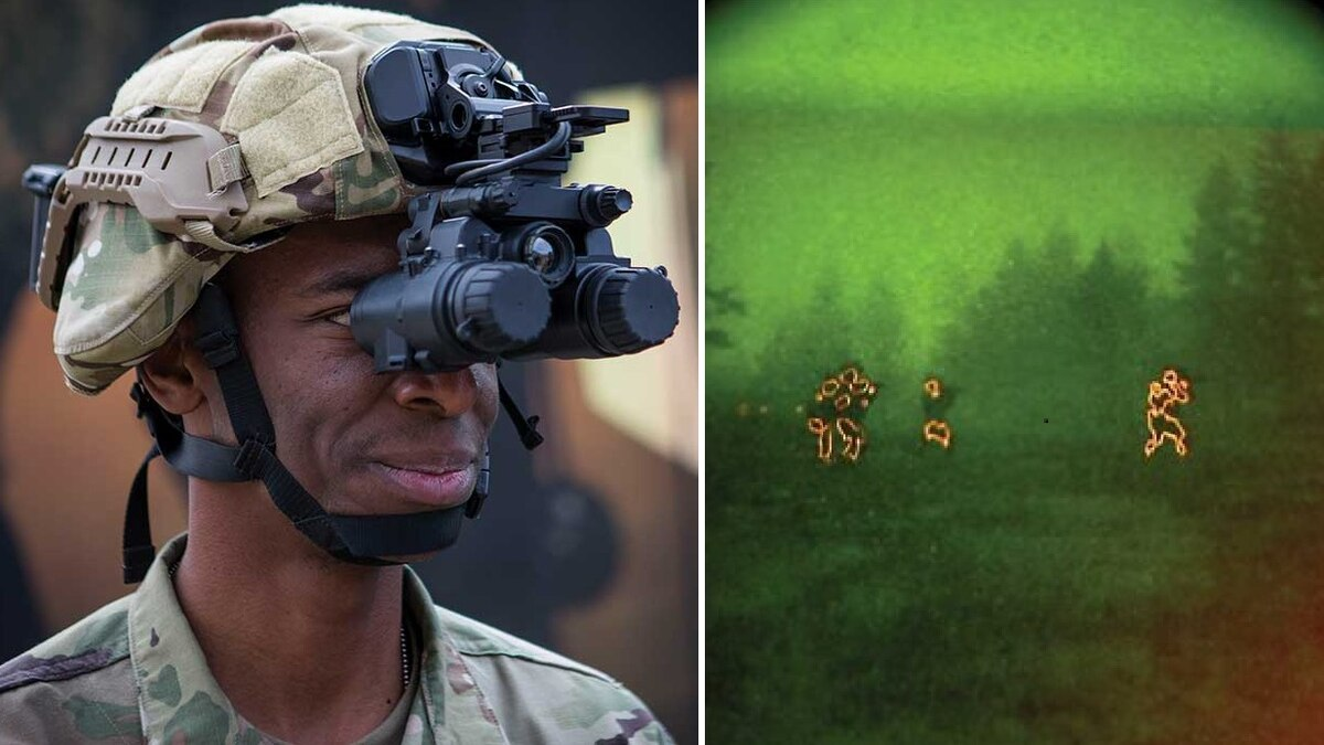 military thermal goggles